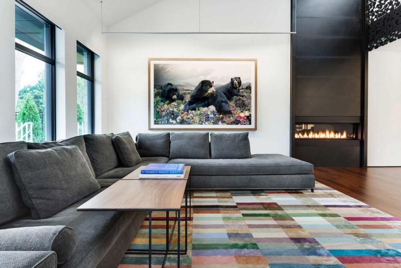 Дизайн гостиной в стиле минимализм. Современный стиль для квартиры. Актуальный в этом году