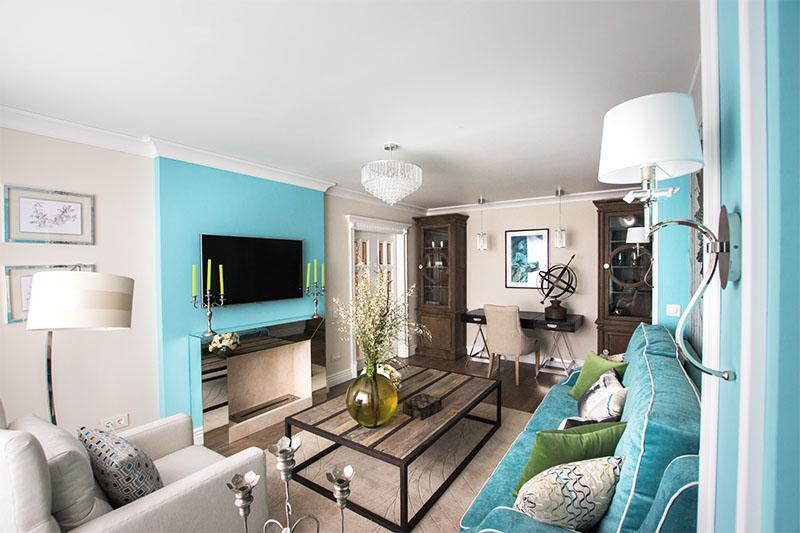 дизайн узкой гостиной интерьер фото как обставить
