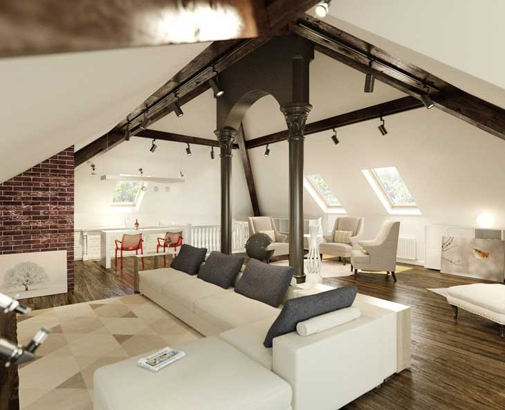 fantastic-living-room-loft-brick-walls