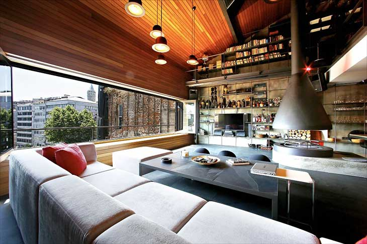 living-room-design-of-the-nthouse-loft-in-istanbul-with-stylish-design