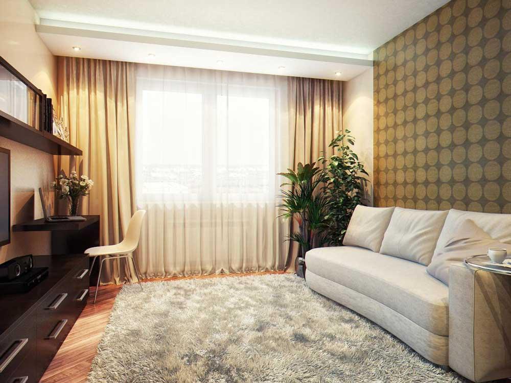Шторы дизайн в гостиную фото