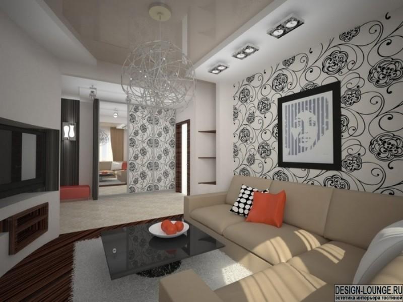 Ремонт и дизайн гостиной