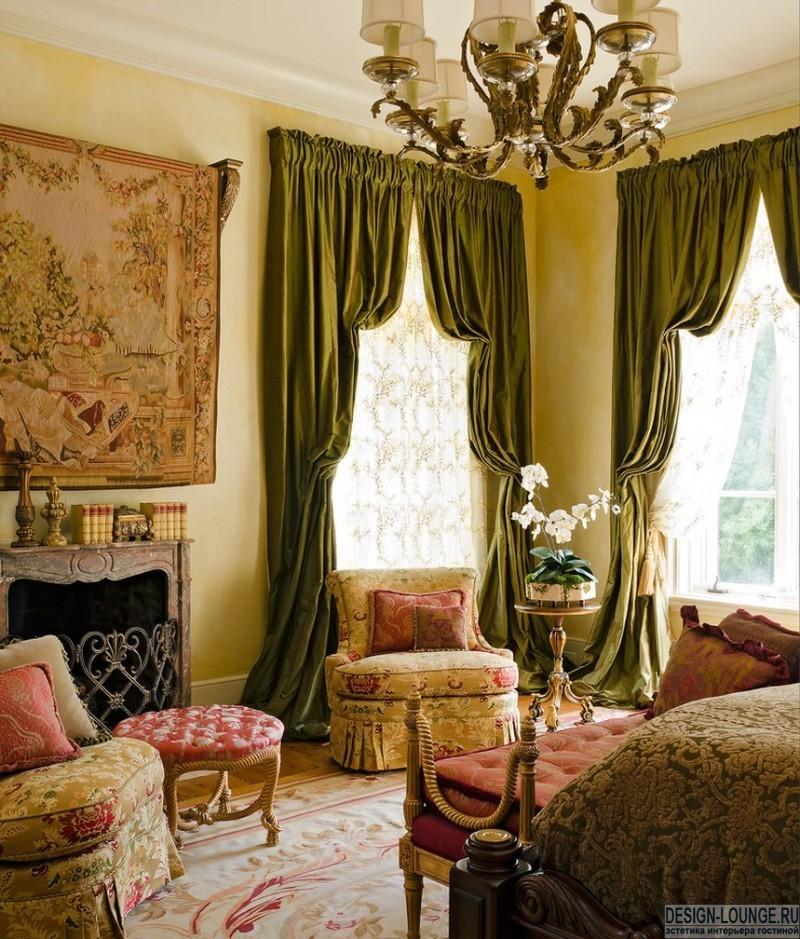 Модные стили в дизайне штор
