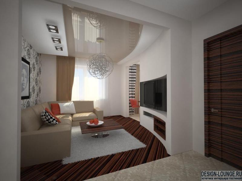 Дизайн проект комнаты в хрущевке