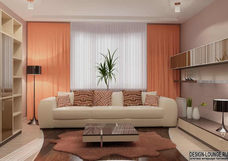 Современный дизайн маленькой гостиной в квартире фото