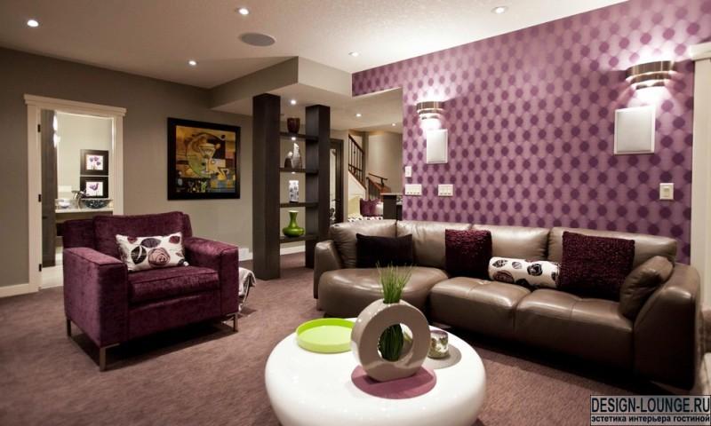 Обои для гостиной: какие выбрать? Дизайн, материалы и расцветки. Что модно?