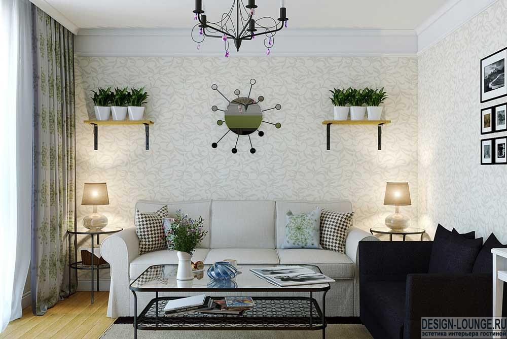 Gemütliches-Wohnzimmer-Dekor